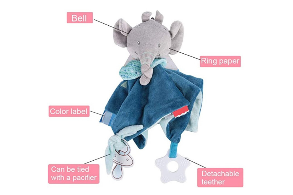 Doudou elephant details